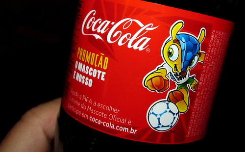 2012 Fifa World Cup 2014 Name That Mascot 600 ml pet Coca-Cola Brazil by roitberg