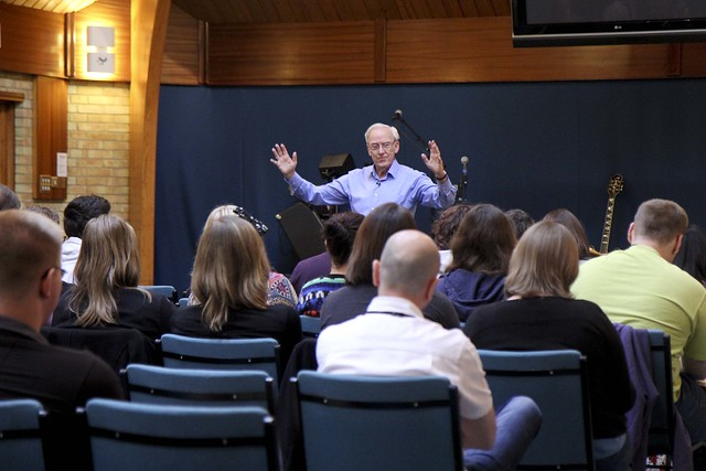 Colin Urquhart at Kingdom Faith Training College