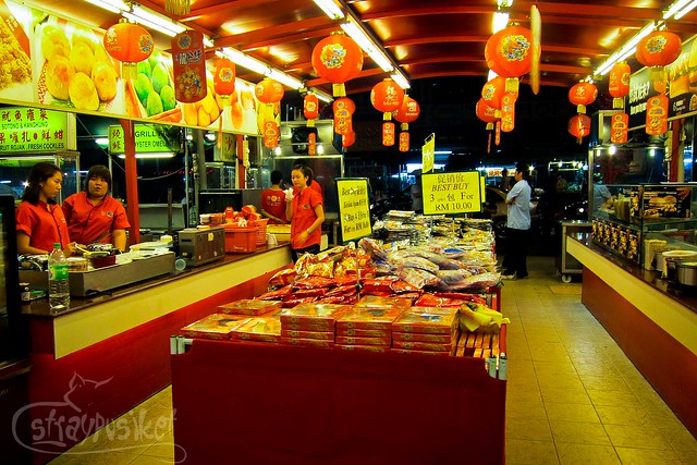 Food Snacks at Jalan Alor