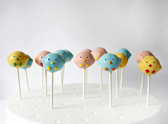 Colorful Cake Pops Recipe