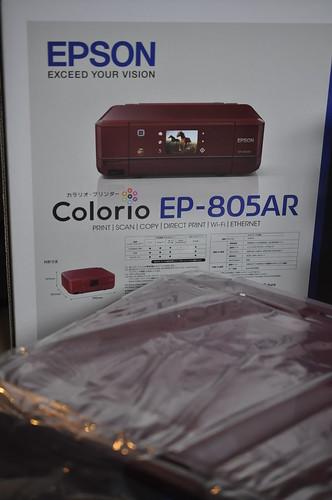 エプソン カラリオEP-805 モニター