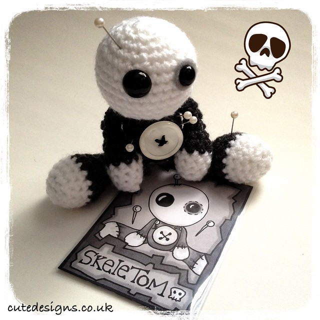 Crochet Amigurumi Voodoo Doll : Introducing Amigurumi Voodoo Doll - SkeleTom I was ...