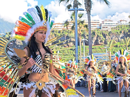 Carnaval Parade, Puerto de la Cruz, Tenerife