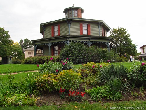 The Octagon House (Hyde House), Genesee Country Village & Museum, Mumford, New York