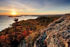 """Sugarloaf Mountain Sunrise"" Marquette, Michigan by Michigan Nut"