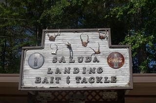 Saluda Landing Sign
