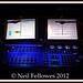 Ultravox Stage Set Ipswich 2012