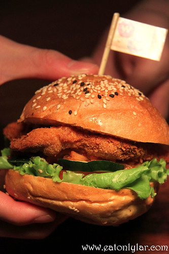 Chicken Katsu Burger, Wondermama