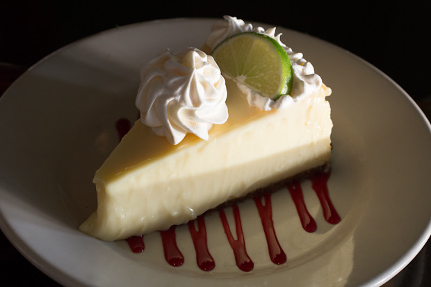 Key Lime Pie, Sharky's on the Pier, Venice, FL, Restaurant Review