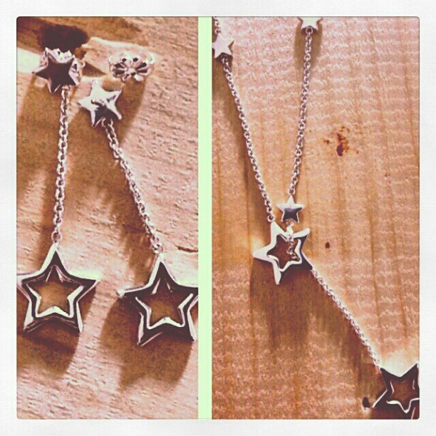 f66c8f6206811 Tiffany & Co. #silver #star lariat #necklace with #matchin…   Flickr