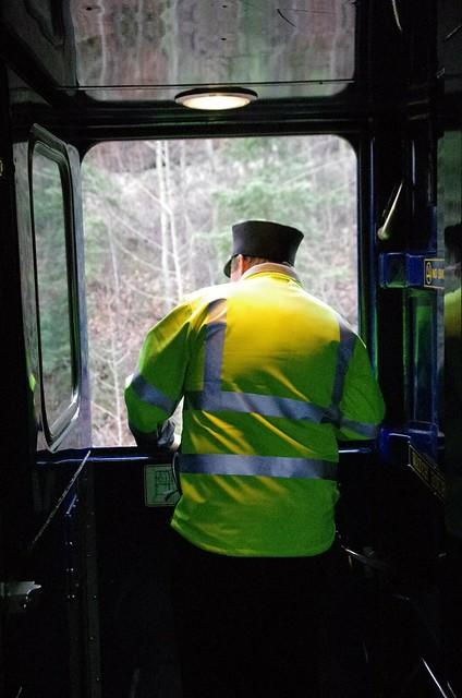 Conductor - Alaska Railroad Aurora Winter Train