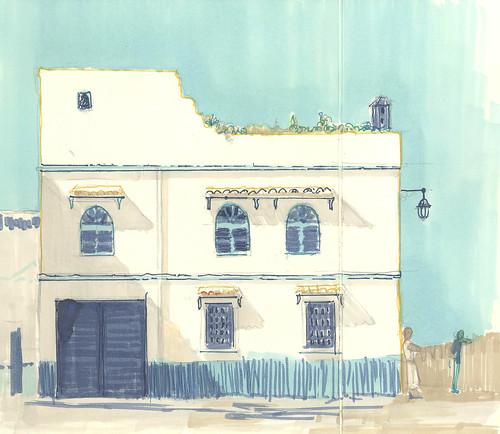 La casa del Mirador. Asilah