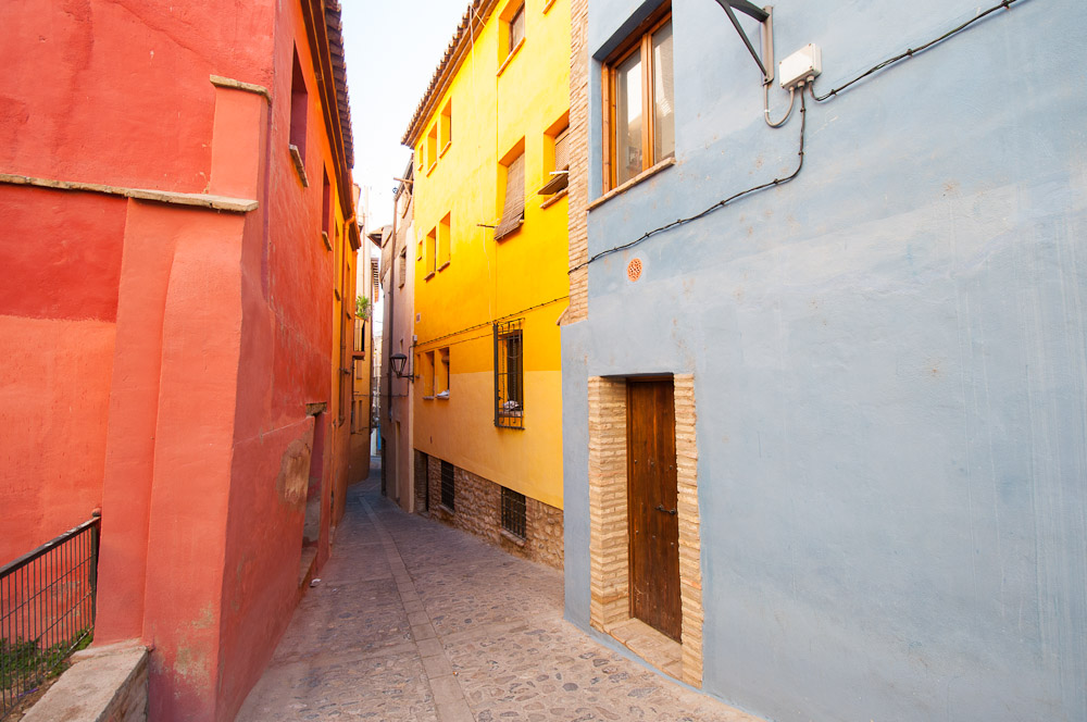 El Barrio de la Judería y las casas colgadas de Tarazona