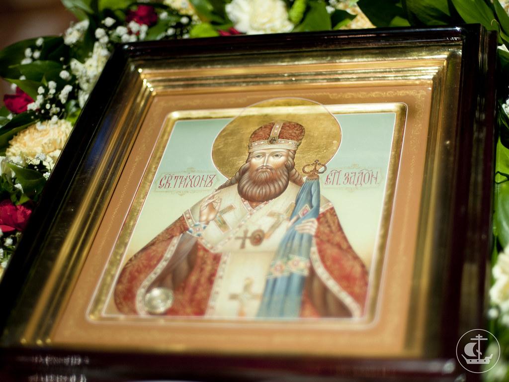 Икона переданная в дар храму из Задонского монастыря