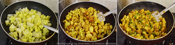 Aloo Gobi Recipe - Step3