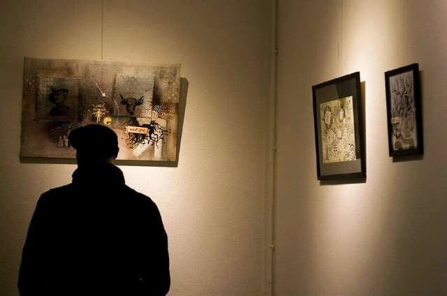 Exposition de Wood & Gaël Chapo à la Briqueterie