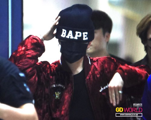 Big Bang - Incheon Airport - 26jul2015 - GD World - 01