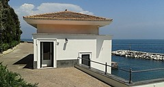 Little house (after 1820) at Villa Rosebery in Naples / Posillipo