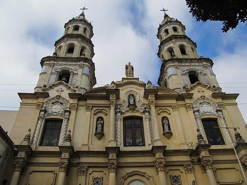 Buenos Aires: la Basilica de Nuestra Señora de Bethlem, dans le quartier San Telmo