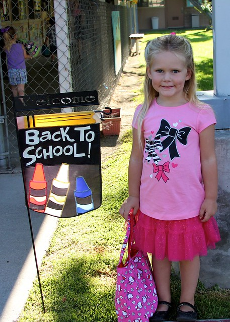 Giulietta's First Day of School 2012 16