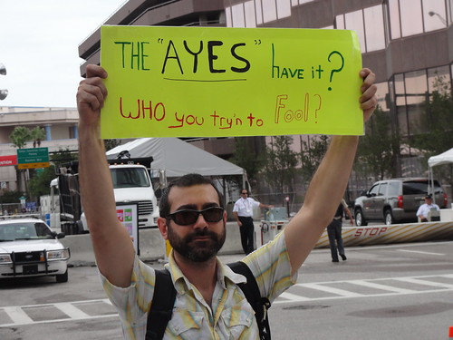 "'The ""Ayes"" Have it? Who you try'n to Fool?'"