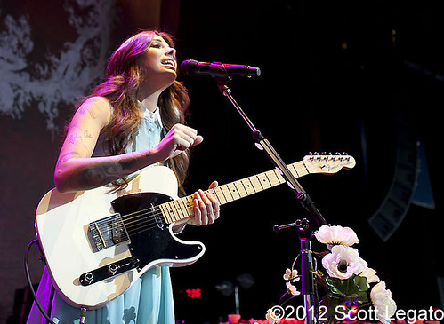Christina Perri - 08-29-12 - Tour Is A Four Letter Word, DTE Energy Music Theatre, Clarkston, MI