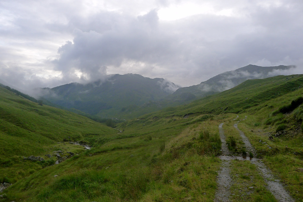 The track to the bealach