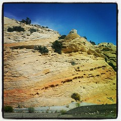 Lovely layers in the rock (still in Utah).