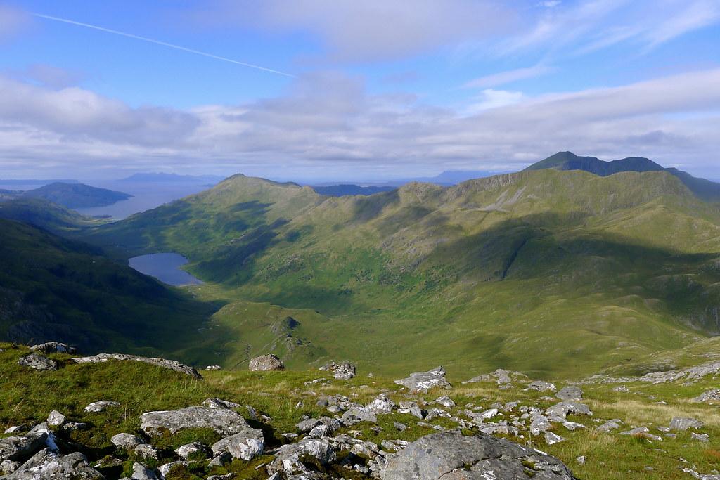 The Aonach Sgoilte and Gleann an Dubh-Lochan