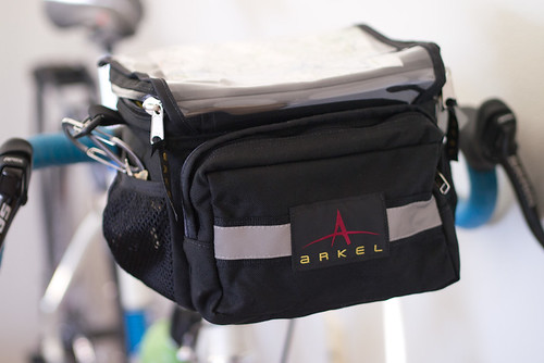 Video Review Small Arkel Handlebar Bag The Path Less Pedaled
