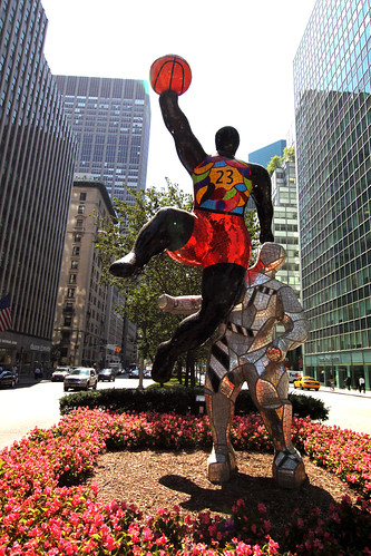 Niki de Saint Phalle on Park Avenue by ShellyS