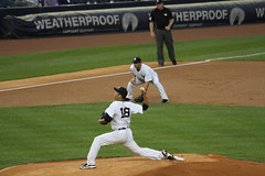 Taken at the Yanks-O's Game on 8/31/12