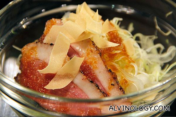Seki Kamo Salad (S$8)
