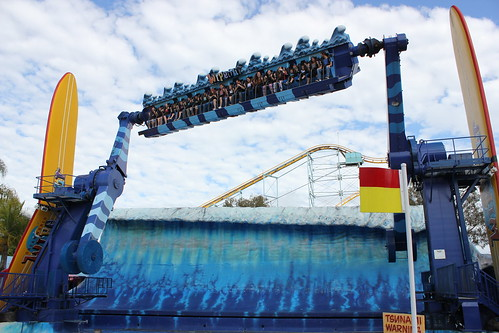 Wipeout ride at Dreamworld by holidaypointau