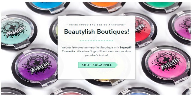 Sugarpill Cosmetics at Beautylish Boutiques