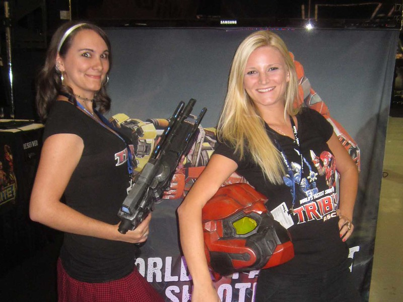 Hi-Rez Ladies at PAX