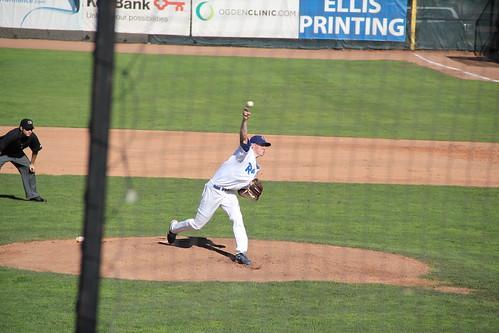 Stripling pitching