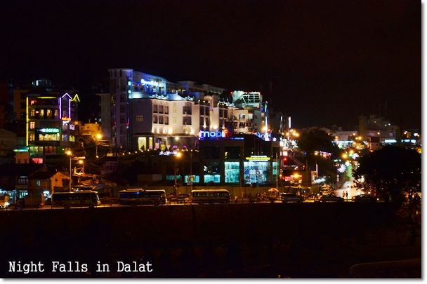 Night Falls in Dalat