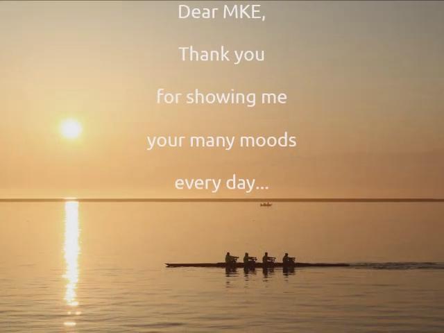 Dear MKE, Thank you (video slideshow)
