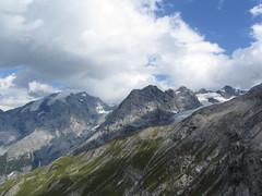 View from the Stelvio Pass