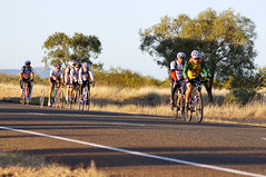 The Team leaving Nanutarra
