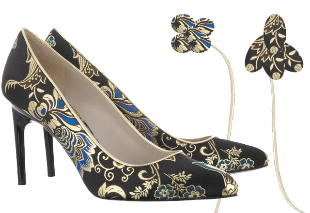 my fair vanity, wednesday wants, rachel mlinarchik, jason wu, brocade pumps