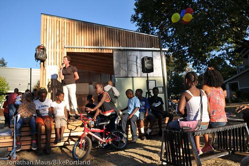Bike Hub opening at New Columbia-9