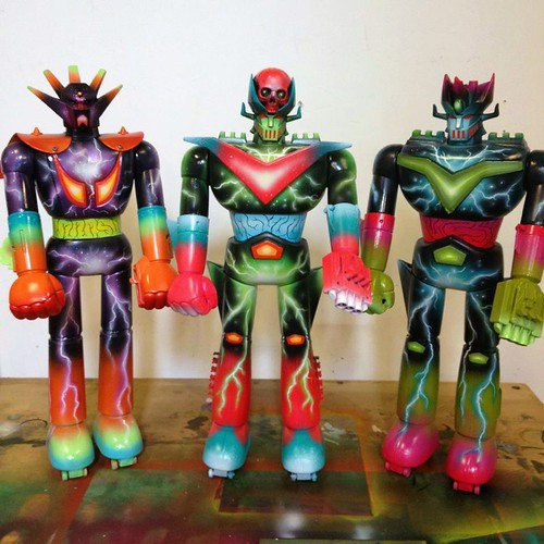 Custom Shogun Warriors by SKINNER