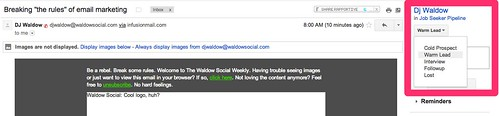 """Breaking """"the rules"""" of email marketing - cspenn@gmail.com - Gmail"""