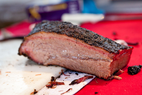 The fatty brisket by Franklin Barbecue from Austin, Texas