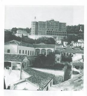 En 1909, antes de su inauguración.