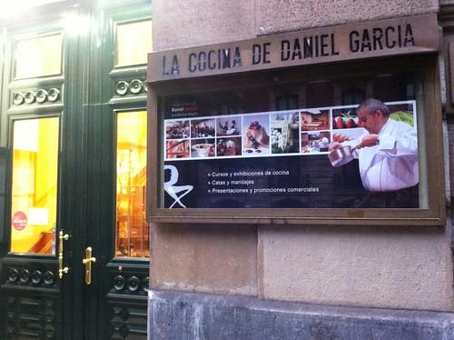 Entrada al restaurante Zortziko - Restaurante Zortziko - Bilbao