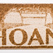 Laser-etched Hoan Bridge