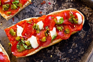 DIY: Frozen French Bread Pizzas